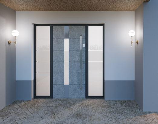 exkluzív alumínium bejárati ajtók